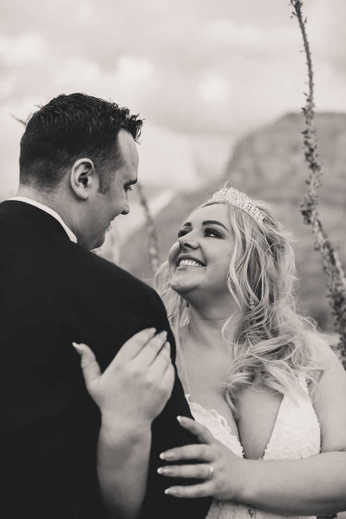 wedding portraits in the Grand Canyon