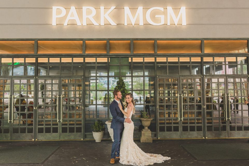Taylor Made Photography captures Park MGM wedding day in Las Vegas