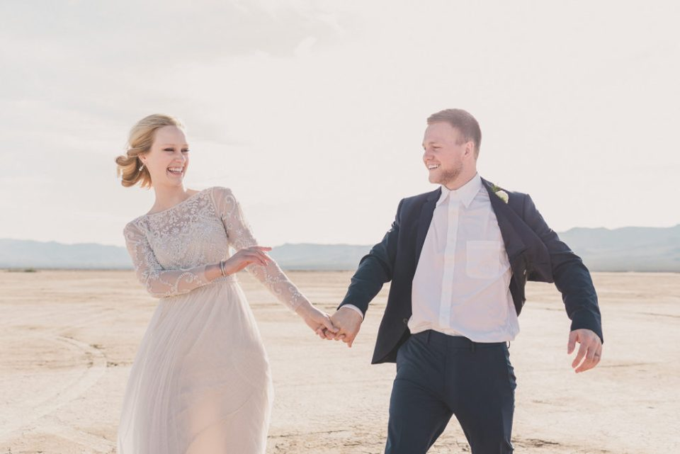 NV elopement at El Dorado Dry Lake Bed photographed by Taylor Made Photography