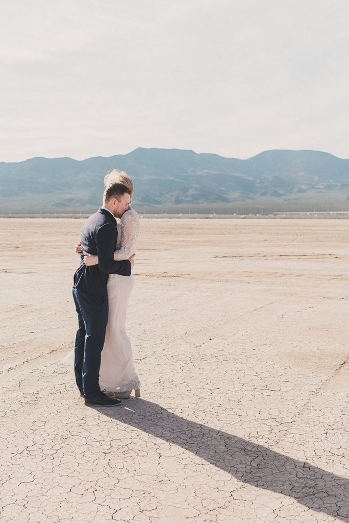 Taylor Made Photography captures happy couple embracing during elopement