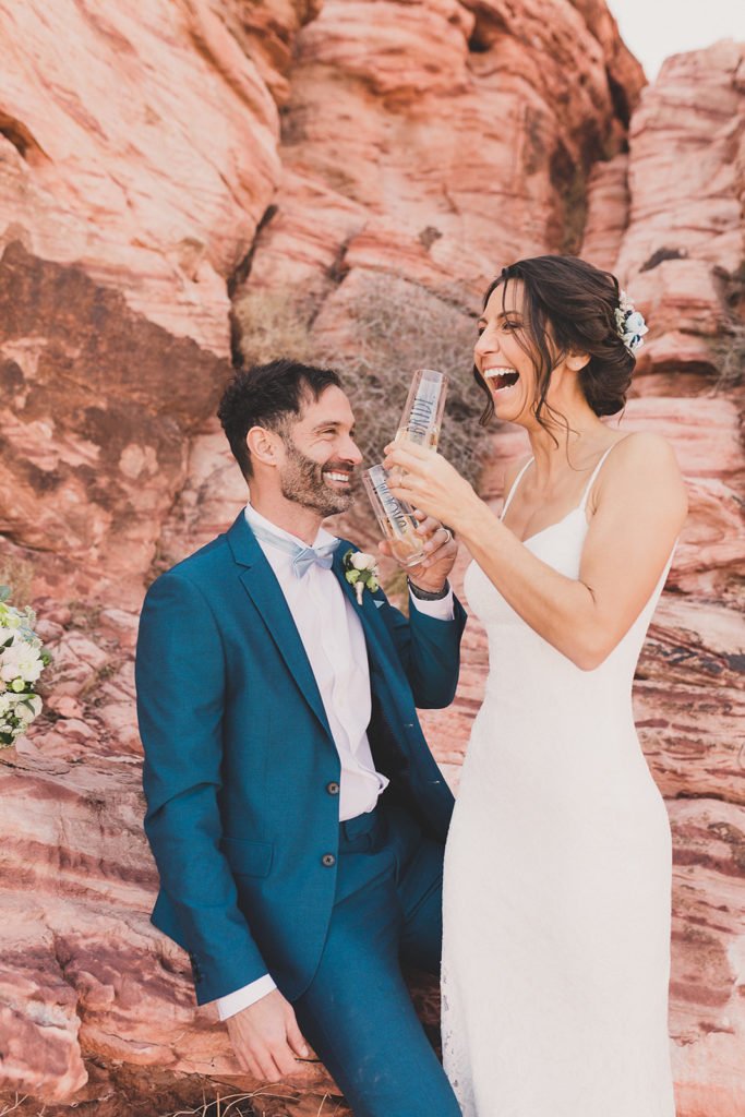 Taylor Made Photography captures Las Vegas elopement celebration