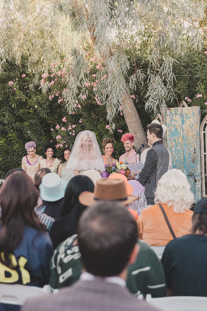 Lotus House wedding ceremony with Taylor Made Photography