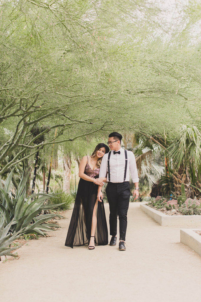 Las Vegas engagement session with Taylor Made Photography