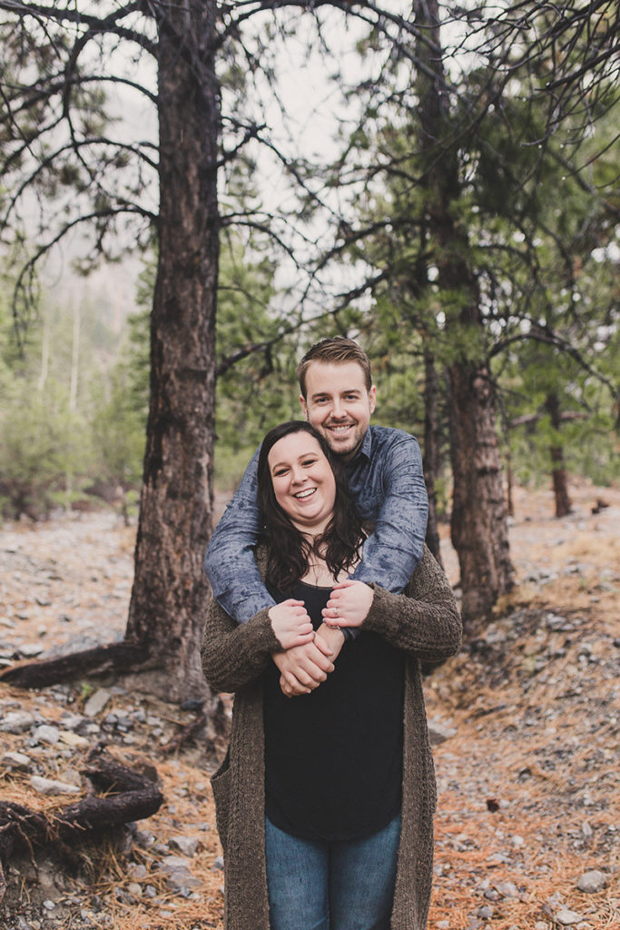 Nevada engagement session photographed by Taylor Made Photography