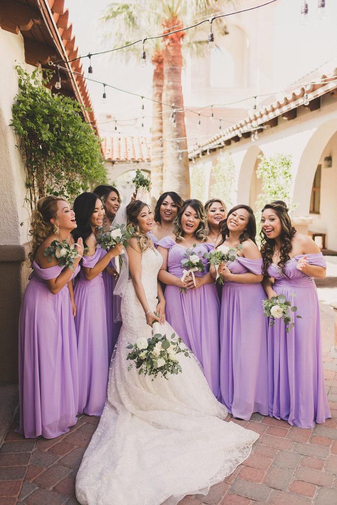 Taylor Made Photography captures bridesmaids in lilac photographed by Taylor Made Photography
