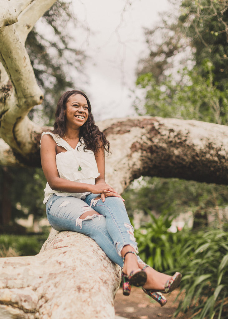 California senior photos at Pomona College with Taylor Made Photography