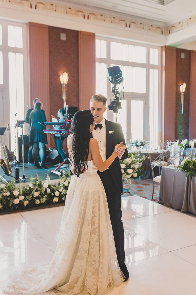 Taylor Made Photography captures first dance at Smith Center for the Performing Arts