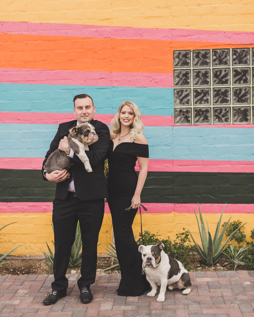 Downtown Arts District family portraits by Taylor Made Photography
