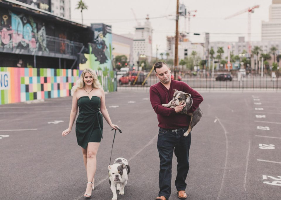 family portraits in Downtown Las Vegas with Taylor Made Photography