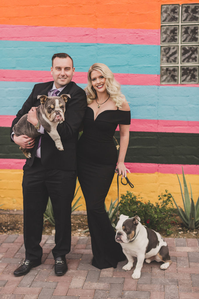 classic and colorful family portraits in Las Vegas with Taylor Made Photography