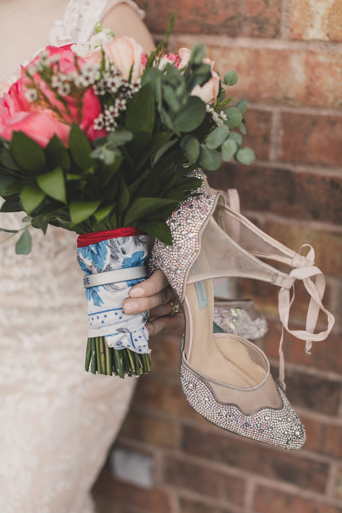 bride's details for Las Vegas elopement photographed by Taylor Made Photography