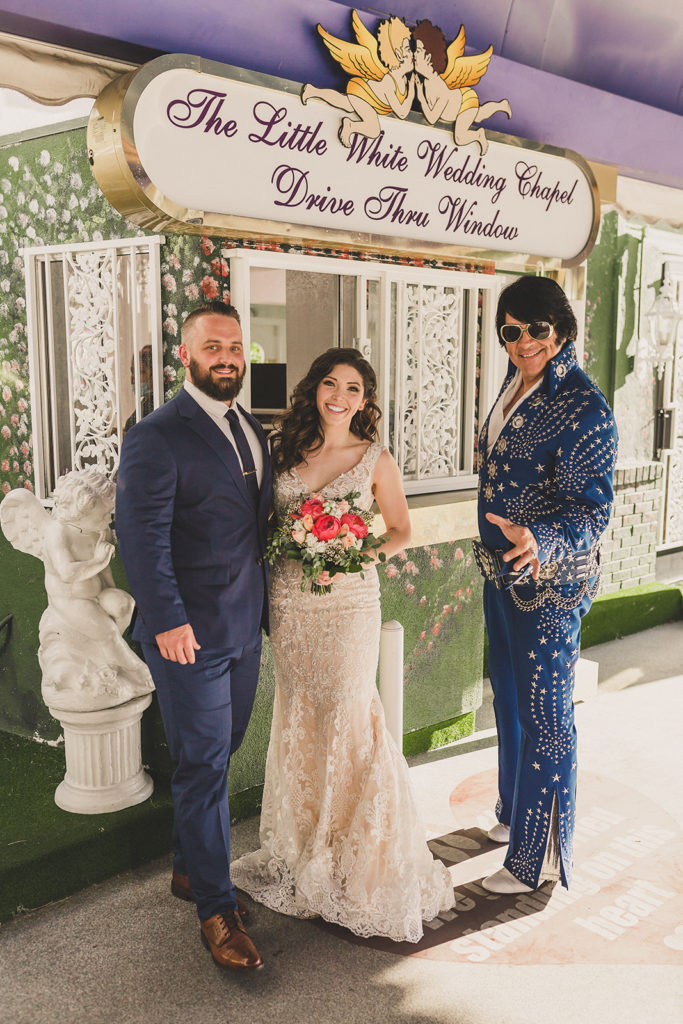 Little White Way Chapel elopement photographed by Taylor Made Photography