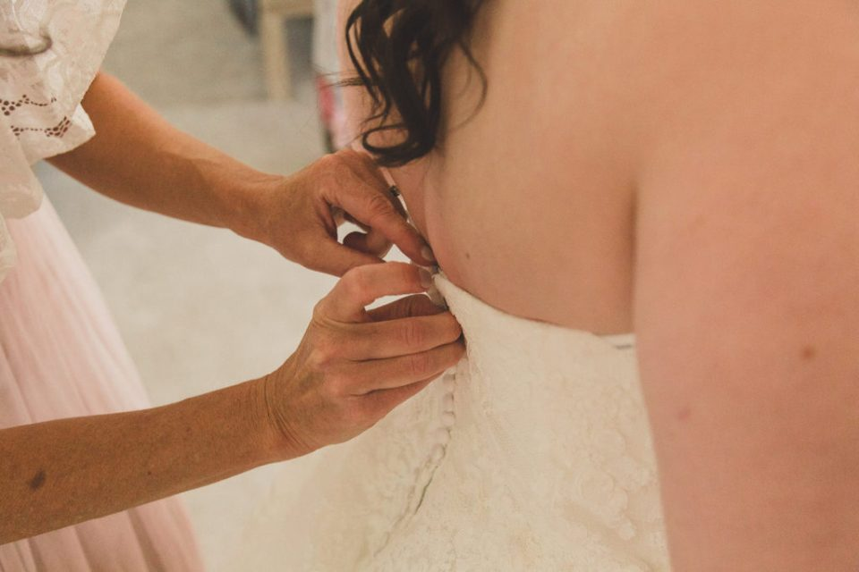 wedding gown details photographed by Taylor Made Photography