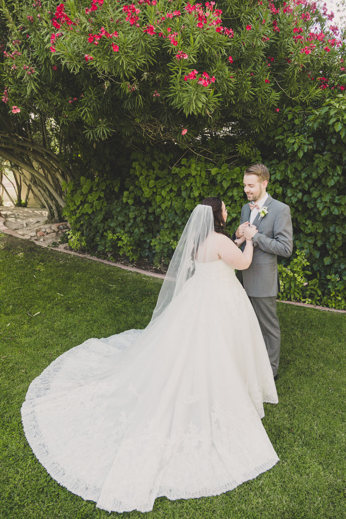 Taylor Made Photography photographs couple during their first look
