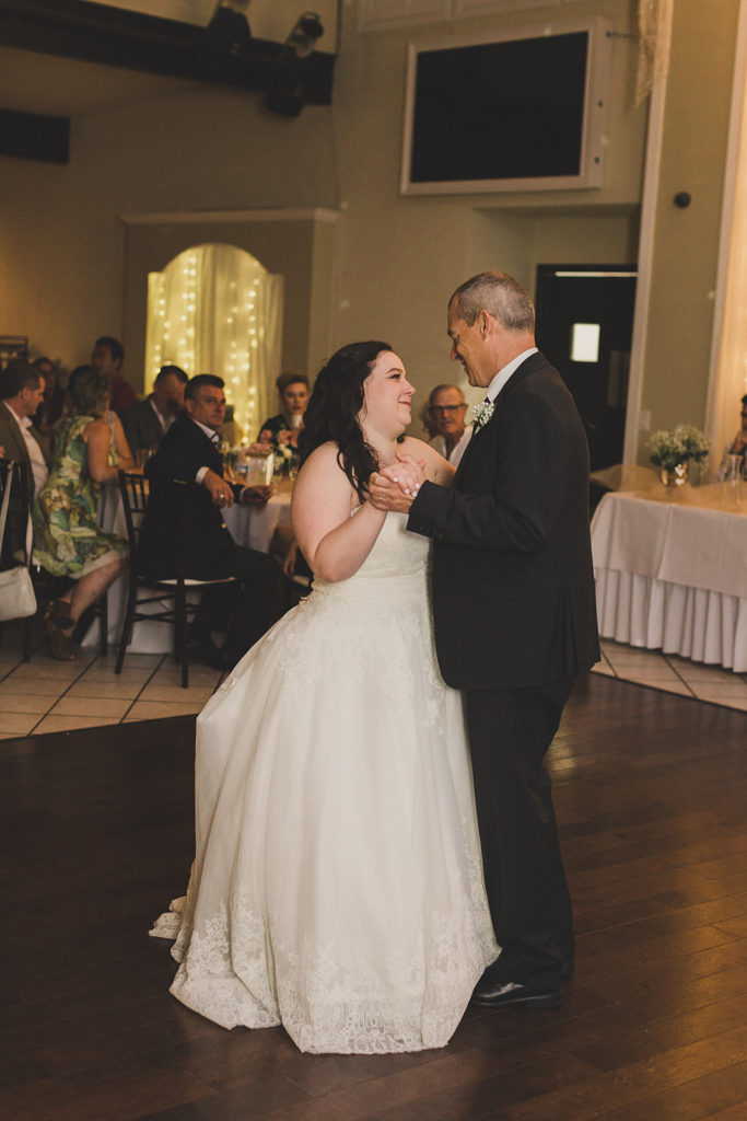 Taylor Made Photography captures bride dancing with father