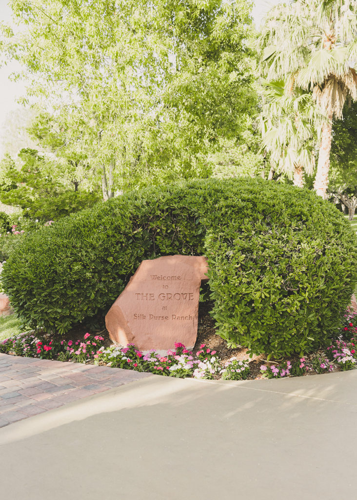 Wedding at the Grove in Las Vegas photographed by  Taylor Made Photography