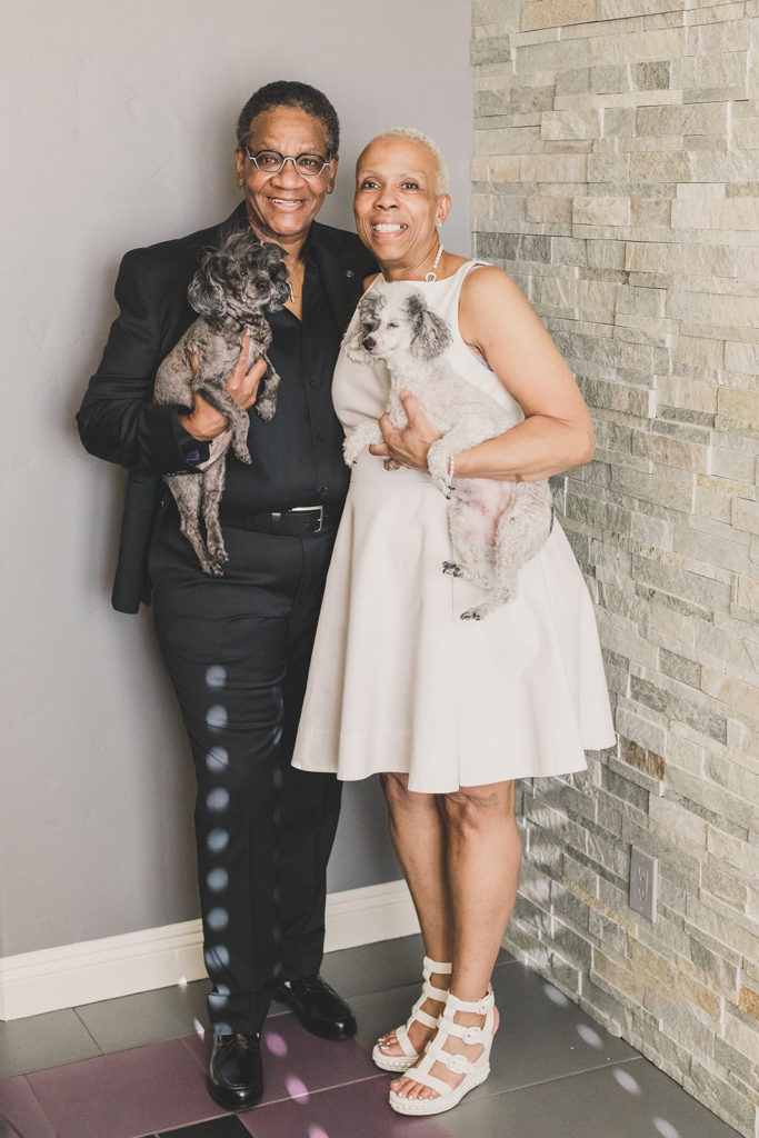 couple celebrates 30 years of marriage with vow renewal in Las Vegas