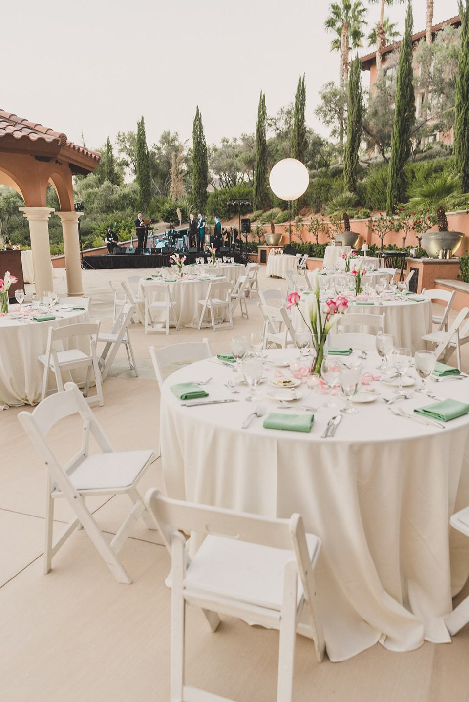 The Westin Lake Las Vegas wedding reception