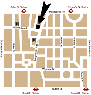 London shop map