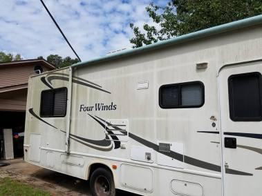 Taylor Mobile Detail Jacksonville FL Moldy RV Before