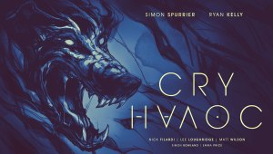 "Image Comics announced CRY HAVOC, a new series written by Simon Spurrier (X-Men Legacy, Marvel Zombies, The Spire), with art by Ryan Kelly (Lucifer, Northlanders, Three), and featuring colors by Lee Loughridge and Matt Wilson, letters by Simon Bowland, and design by Emma Price. CRY HAVOC is a journey into war-torn Afghanistan in the company of monsters, a London street-musician savaged by a ghostly hound, and a terrified prisoner tangled in a folkloric insurrection. ""Beneath all its snark, fanged horror-beasts, deadly firefights and exploding billy-goats, Cry Havoc is the intimate tale of one woman struggling to keep her life from falling apart,"" said Spurrier. ""To depict it all I've been lucky enough to partner with Ryan, who's genuinely one of the greatest storytellers our medium has—not to mention a next-level monster-wrangler. Add to that some narrative mold breaking by our roster of superstar colorists and Cry Havoc is snarling to be set loose."" CRY HAVOC features three parallel and interwoven story threads in the life of Lou Canton: an extraordinary woman being consumed by chaos with three different colorists lending their artistic takes in order to define the separate phases of the story. Best described as Jarhead via Pan's Labyrinth, CRY HAVOC is a modern mix of myth, military, and monstrosity."