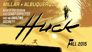 "Bestselling writer Mark Millar (Kingsman: The Secret Service, Kick-Ass, WANTED) will team up with artist Rafael Albuquerque (American Vampire) for an all-new project to be titled, HUCK. Millar said of the project: ""All the best old comics were about people you didn't expect becoming empowered. Peter Parker wasn't a classic hero. He was a lonely teenager. Matt Murdock was blind. Tony Stark had a heart condition. Doctor Donald Blake couldn't walk without a stick. So we wanted to do something incredibly sweet about a small-town guy with learning difficulties who could do all these amazing things. He's the purest, most decent character you've ever seen in a comic book. A big guy who just wants to help people and does it in secret so nobody even knows he even exists. It's the ultimate feel good comic. A Frank Capra superhero story I guess about a small town and a close-knit community and an amazing guy they just all want to shelter from the outside world. He's Captain America meets Forrest Gump. He's just a nice guy in a very classic mould. ""Working with Rafael has been amazing. I've always been a fan, but you really only fully appreciate an artist when you see what he does with one of your scripts. I think this is one of the most beautifully drawn comics I've ever had my name on and it's been such a pleasure. I finished the whole project in early summer and I'm starting the second arc soon. We've got three of these stories planned, each one six issues long, and we're just having a good time. I think you stumble on something special every once in a while as a creator and my gut tells me we've got a project like that here."""