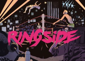 "RINGSIDE is an ongoing drama written by Joe Keatinge (SHUTTER, TECH JACKET), with art by Nick Barber, colors by Simon Gough, and letters by Ariana Maher set around the world of professional wrestling and coming from Image Comics this November. The series explores the artistry of performers rotating as cogs in the corporate machinery of an industry built to sell myth to the masses. ""Ever since I was a kid I've been caught up in the mythology professional wrestling sells us, that these larger-than-life men and women are unstoppable titans locked in a never-ending, action-packed drama,"" said Keatinge. ""However, in time you learn that they're just as human as anyone else, that they're very much putting their lives on the line to entertain us, that they're just as much part of a corporate machine built for profit as anyone else. Ringside's a book about taking apart that machine and seeing how the industry functions and the lives it affects from a rotating set of angles including the wrestlers themselves, the creatives they work with, the suits in charge and the fans cheering them all on."" RINGSIDE starts with three perspectives: a retired veteran forced to fight his greatest battle in the real world, a rookie struggling to get his first shot and a writer frustrated over lack of control. But they're just the beginning. The real violence is outside the ring."