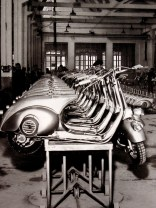 Image from 'wax-wayne': The original 1946 scooter