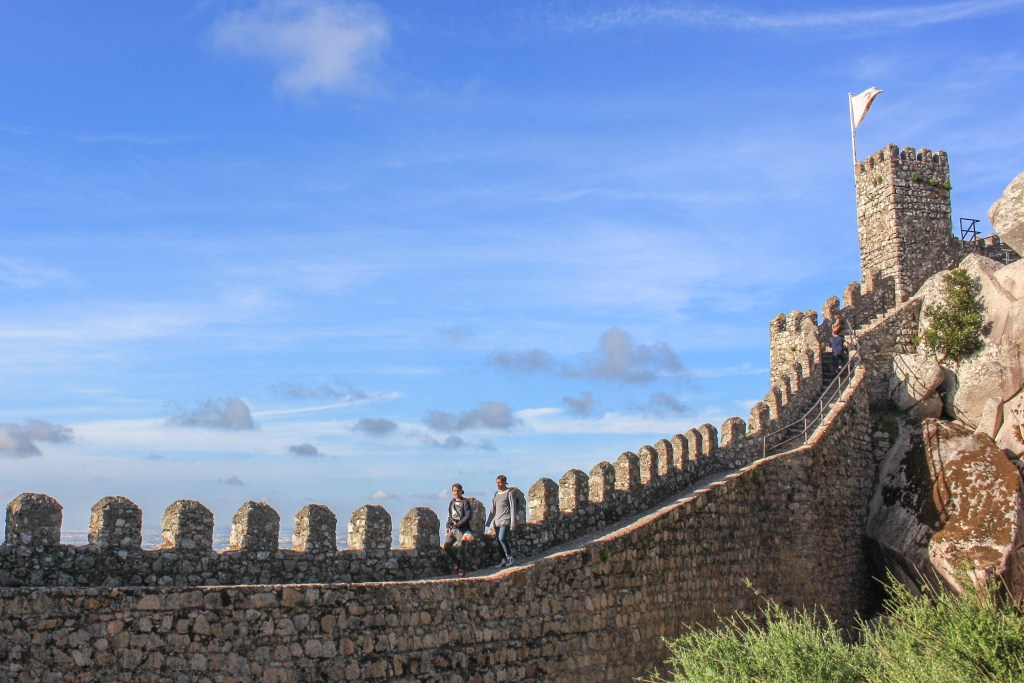 Visiting Pena Palace and the Castle of the Moors in Portugal