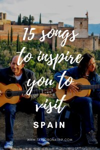 Songs about spain