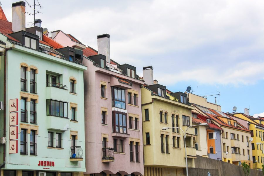 Bright Hues and Bullet Holes in Bratislava: A Photo Essay