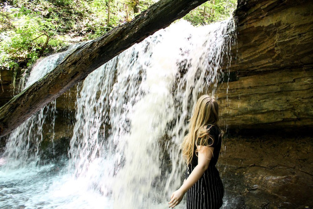 Hiking to Tioga Falls in Kentucky (Or, That Time We Found Fort Knox)