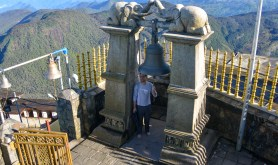 Ringing the bell - one ring for each time you've summited