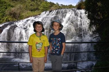 Boys at Baker's Falls