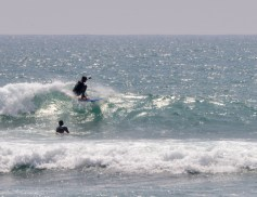 Surfing at Cape Wellgama