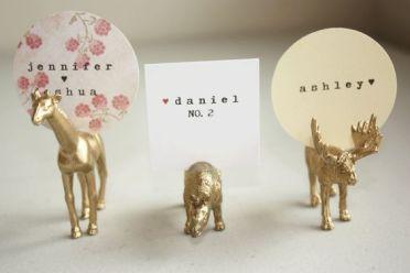 Gold Toy Animals