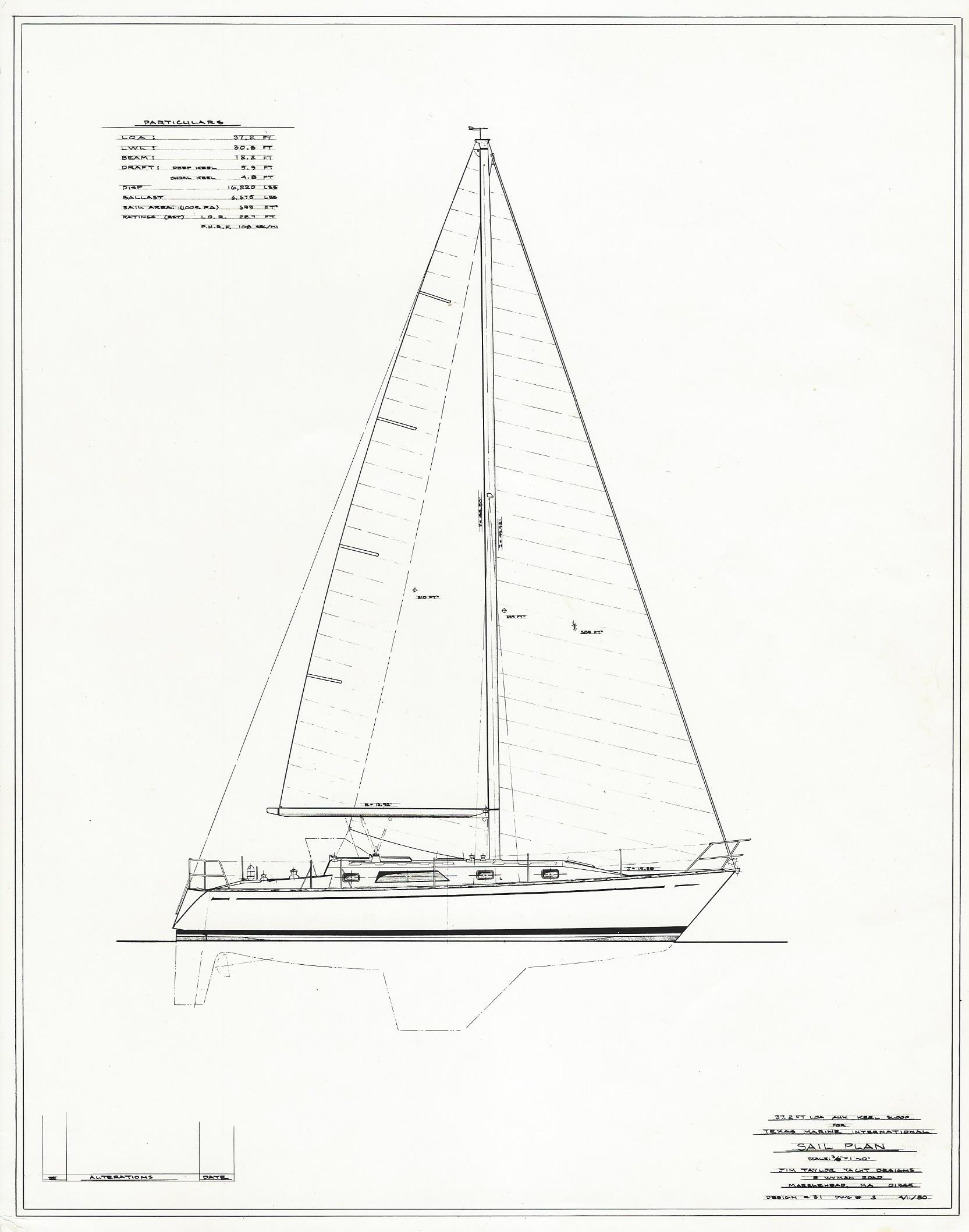Graves 37 By Jim Taylor Yacht Designs