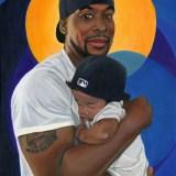 DR & L - Black Role Model Painting