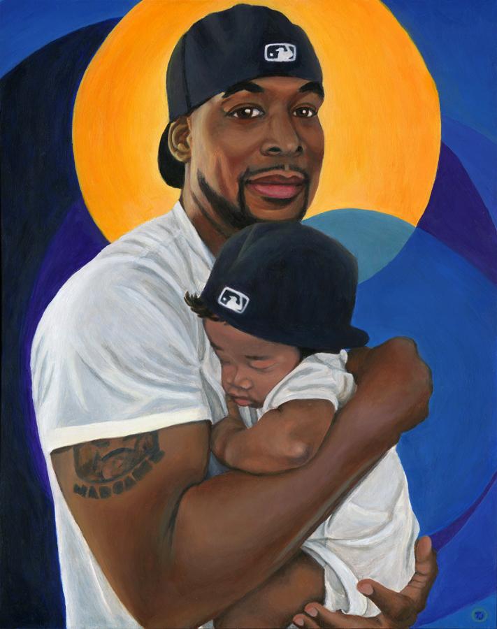DR & L – Black Role Model Painting