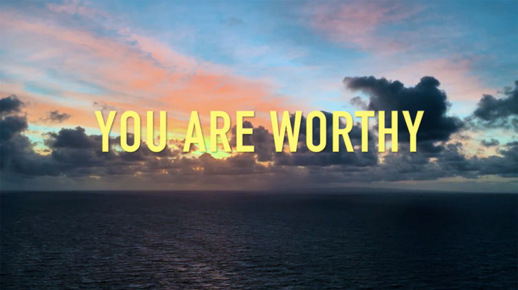 You Are Worthy Lyric Video