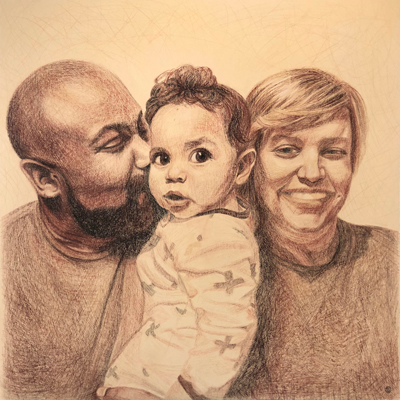 Young Family Commission Small