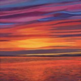 Seal Beach Sunset 07 Painting