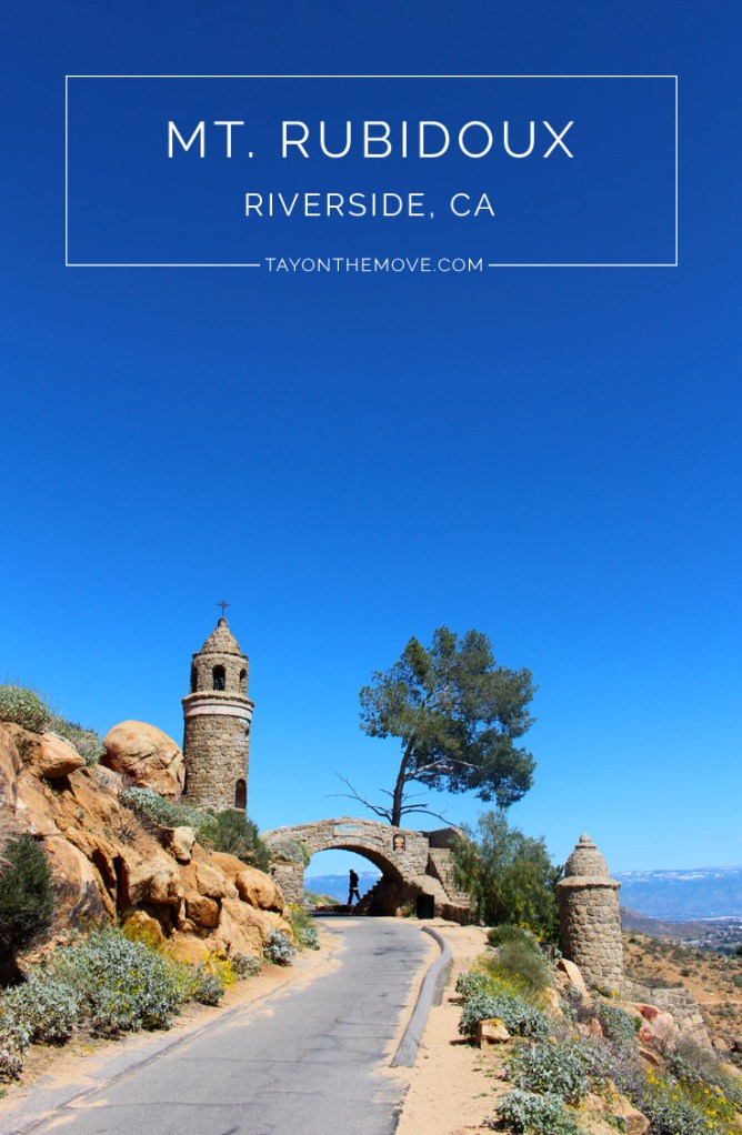 Mt Rubidoux Riverside California - A beautiful hike in Southern California