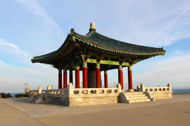 Korean Bell of Friendship Angels Gate Park San Pedro California
