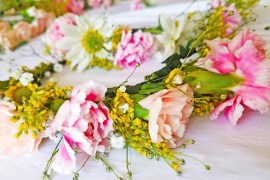 DIY Flower Crown - Spring Time
