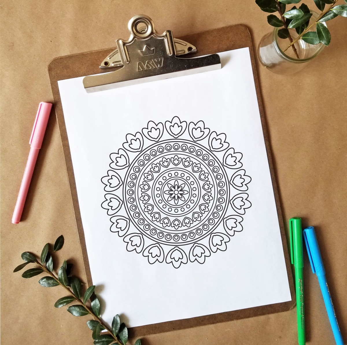 FREEbie Friday - Coloring Page 12