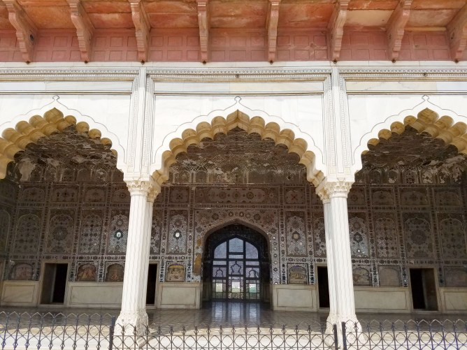 Lahore Fort Sheesh Mahal Pakistan