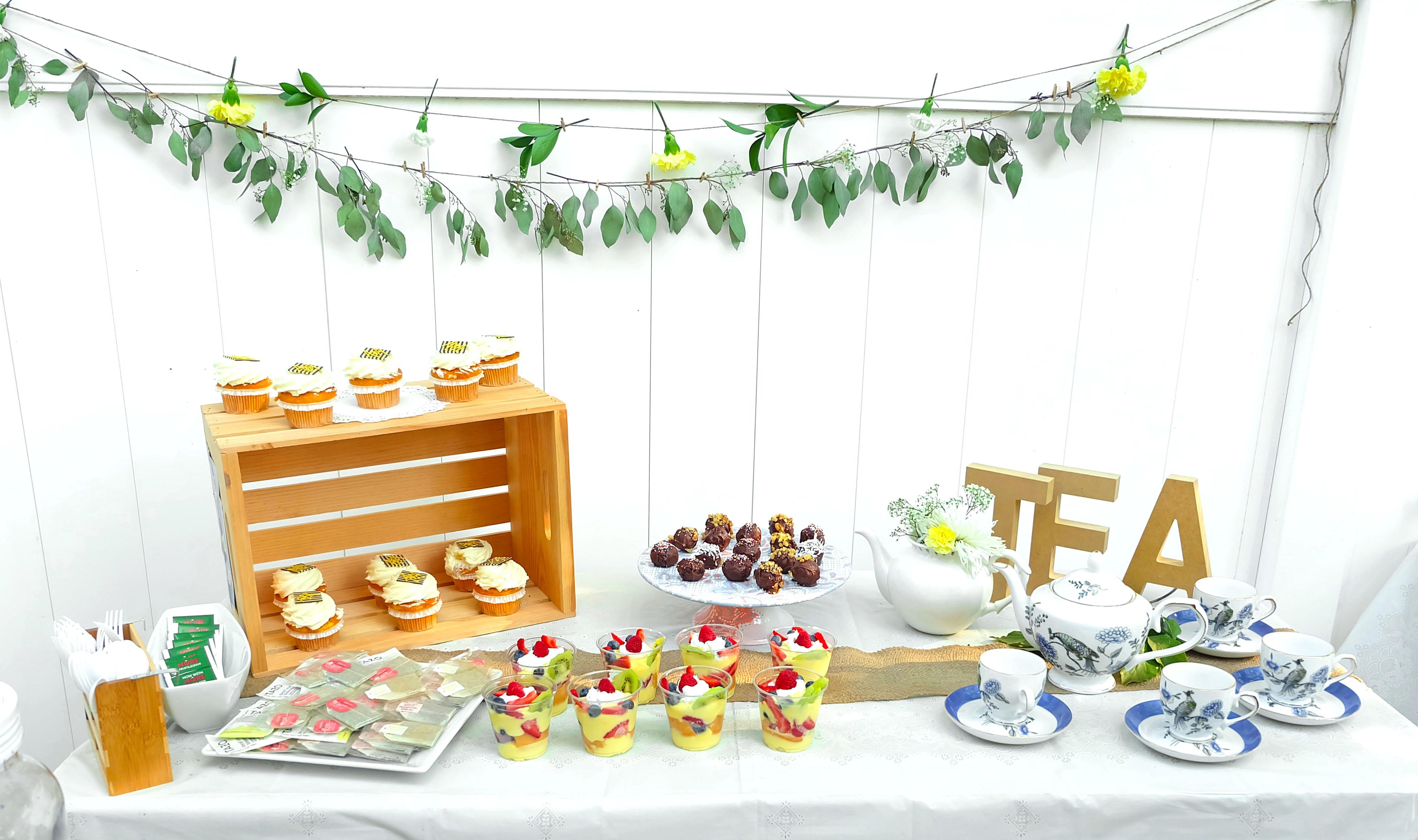 Image result for Tea party Bridal Shower