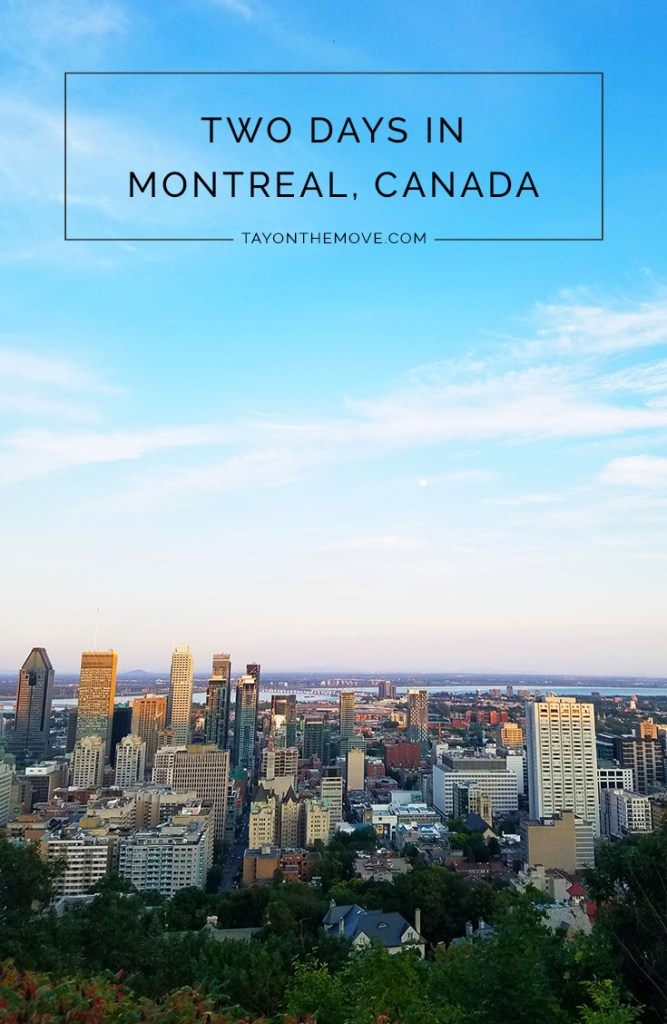 What to do in Montreal, Canada