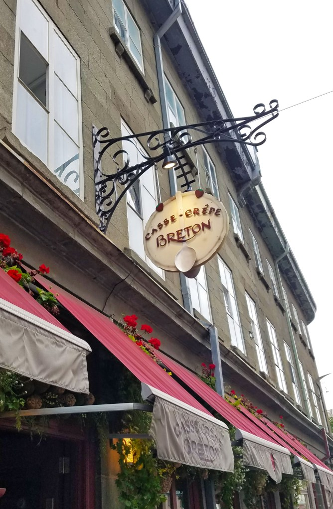 Where to eat in Quebec City, Quebec, Canada: Crepes at Casse-Crêpe Briton